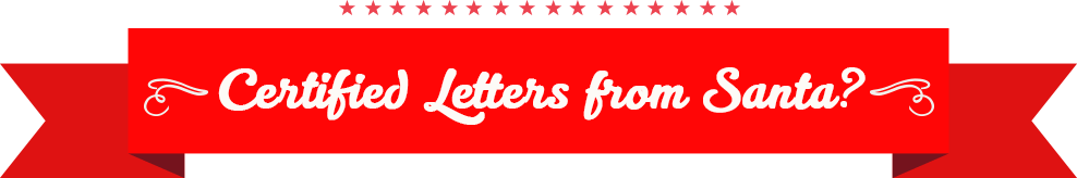 Certified Letters from Santa